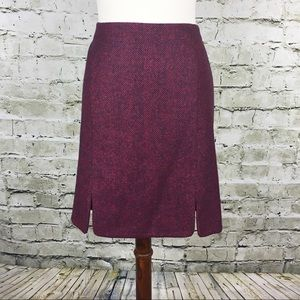 Boden British Tweed by Moon Skirt (Size 12R)